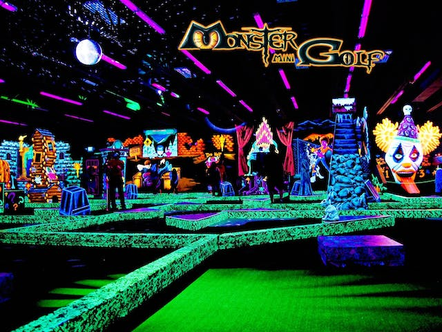 Stuck For Kids Birthday Party Ideas Then Look No Further Monster Mini Golf
